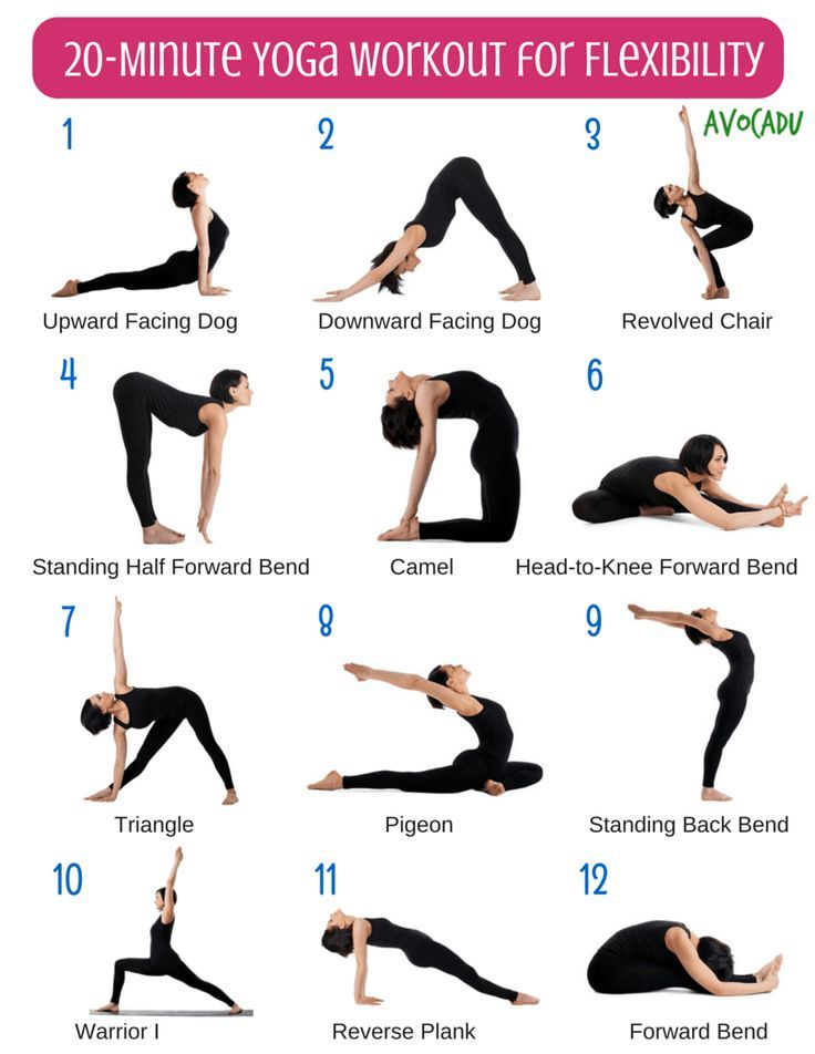 20 Minute Beginner Yoga Workout For Flexibility #routine