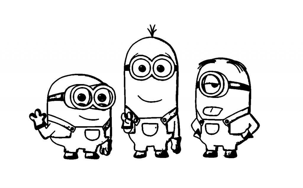 Ausmalbilder Minions Kostenlos Malvorlagen Windowcolor Zum Drucken In 2020 Disney Malvorlagen Ausmalbilder Minions