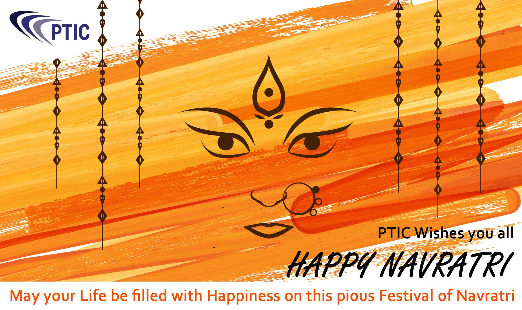 Ptic Wishes You All Happy Navratri May Your Life Be Filled With