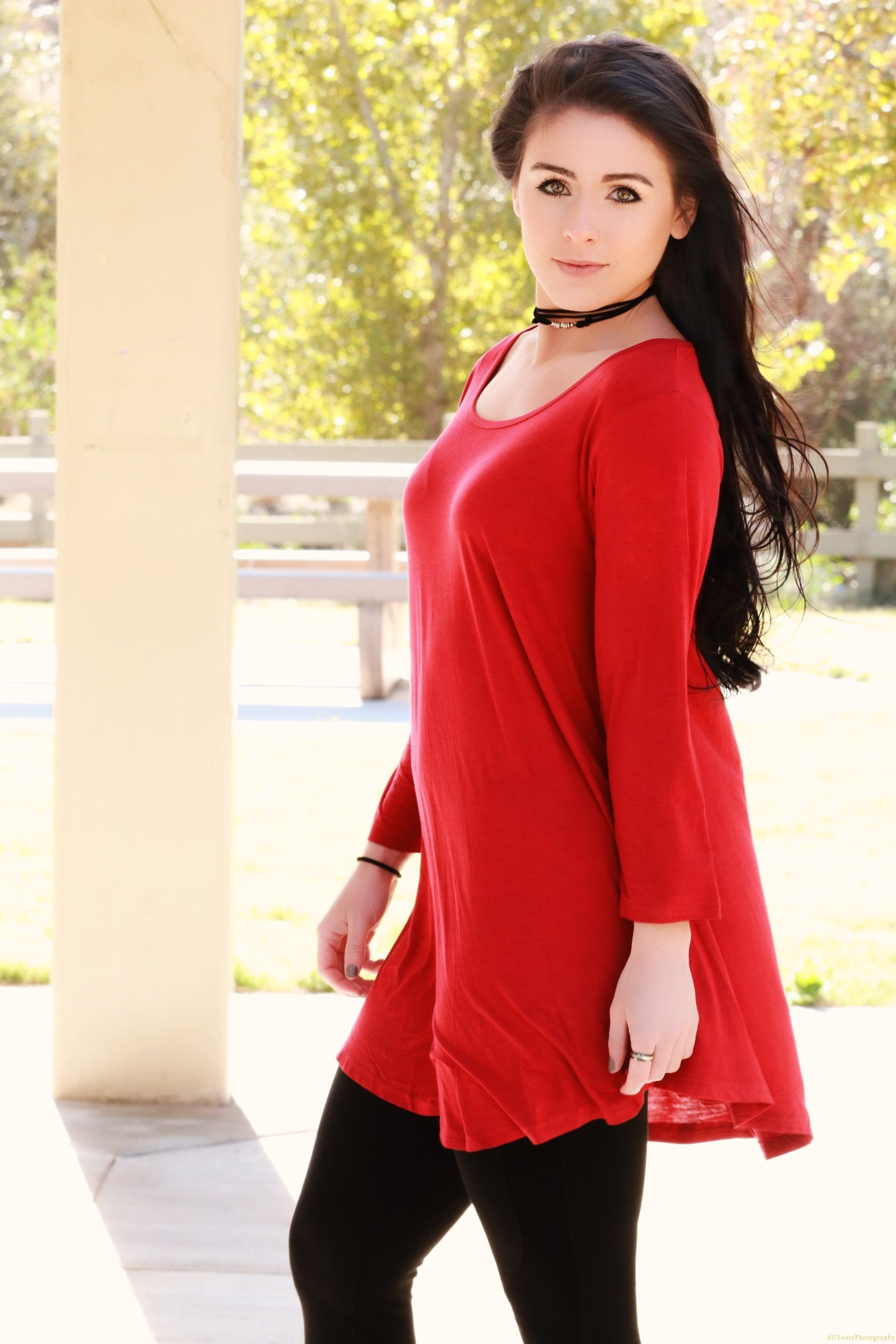 f98ee80b193 How to The Right Way Wear Flowy Tunic Tops And Leggings | DOLMAN ...