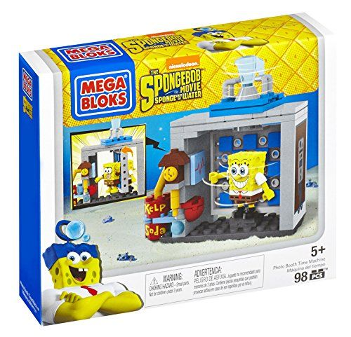NICKELODEON SPONGEBOB THE MOVIE SPONGEBOB OUT OF WATER MEGA BLOKS