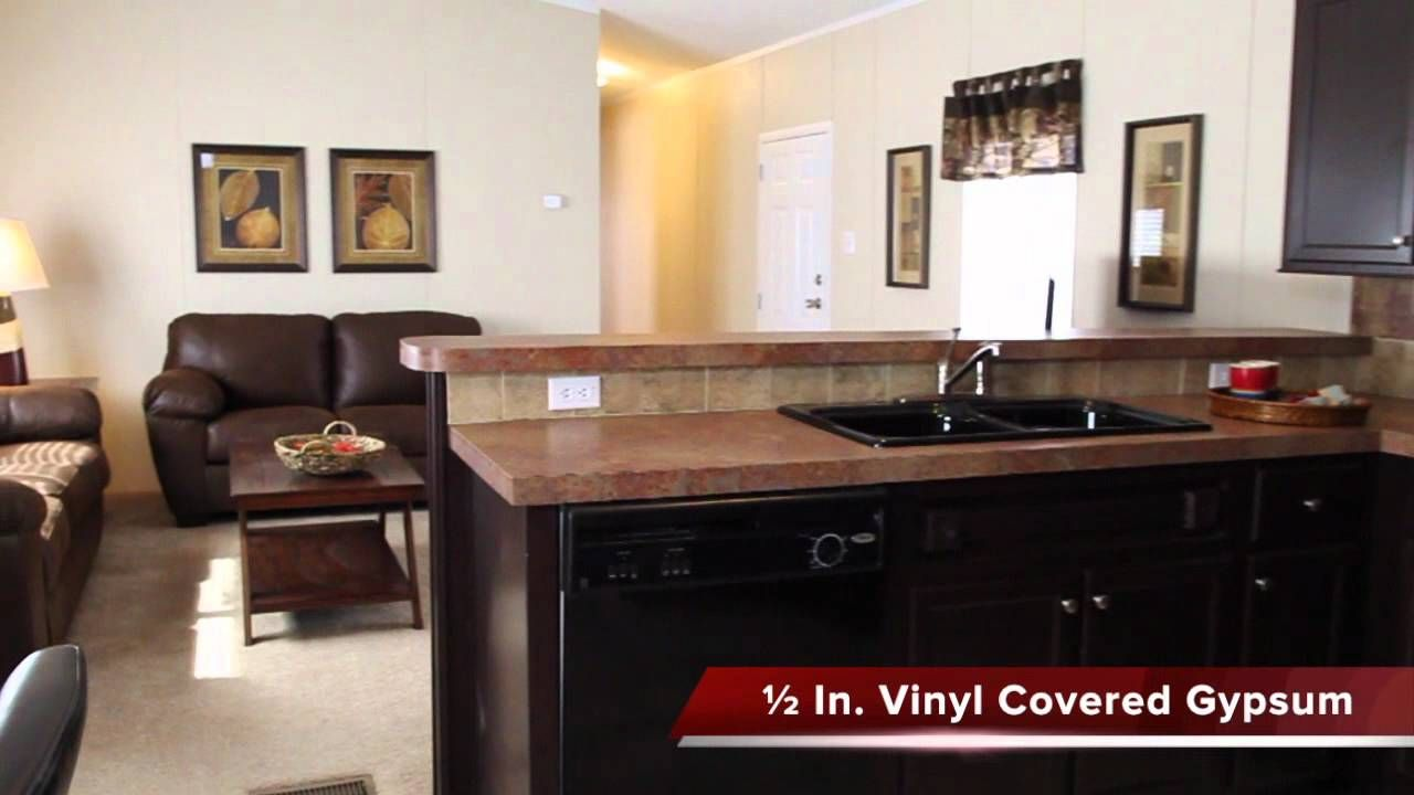 The Grayson Singlewide manufacturedhome 3/2 home with