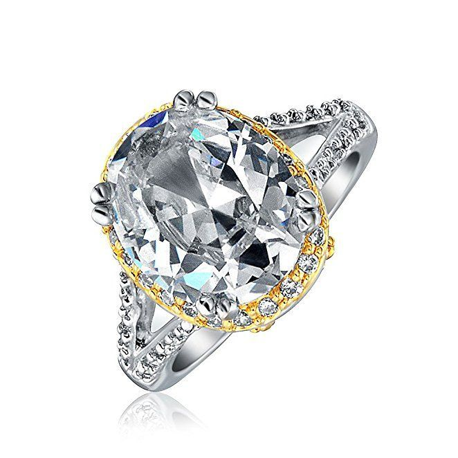 Knockoff Katie Holmes Inspired Engagement Ring Replica Bling
