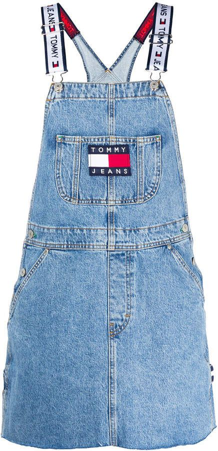 TOMMY JEANS Dunagree Dress (With images) | Womens denim
