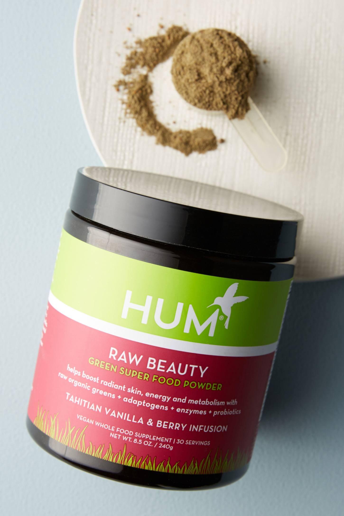 Hum Nutrition Raw Beauty Green Superfood Powder Green Superfood Green Grapes Nutrition Superfood Powder
