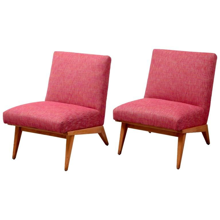 Pair of Jens Risom 21 Chair 1940s USA for Knoll Associates | Modern ...