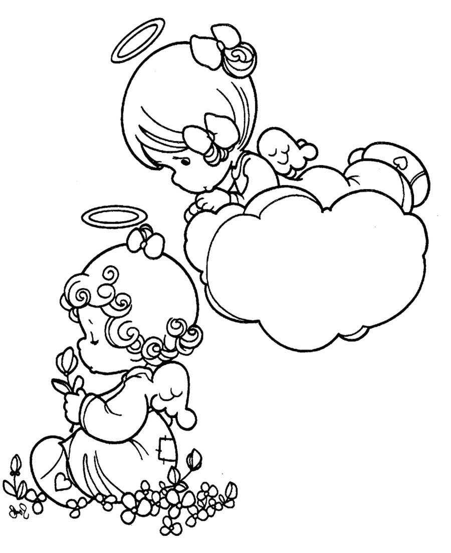 Precious Moments Coloring Pages Love | Precious Moments | Pinterest ...