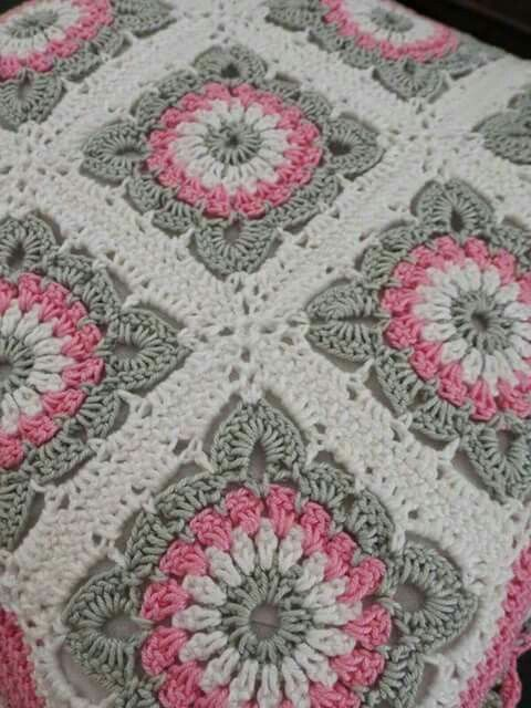 Pin von Laura Wilson-Anderson auf Crocheting | Pinterest | Decken ...