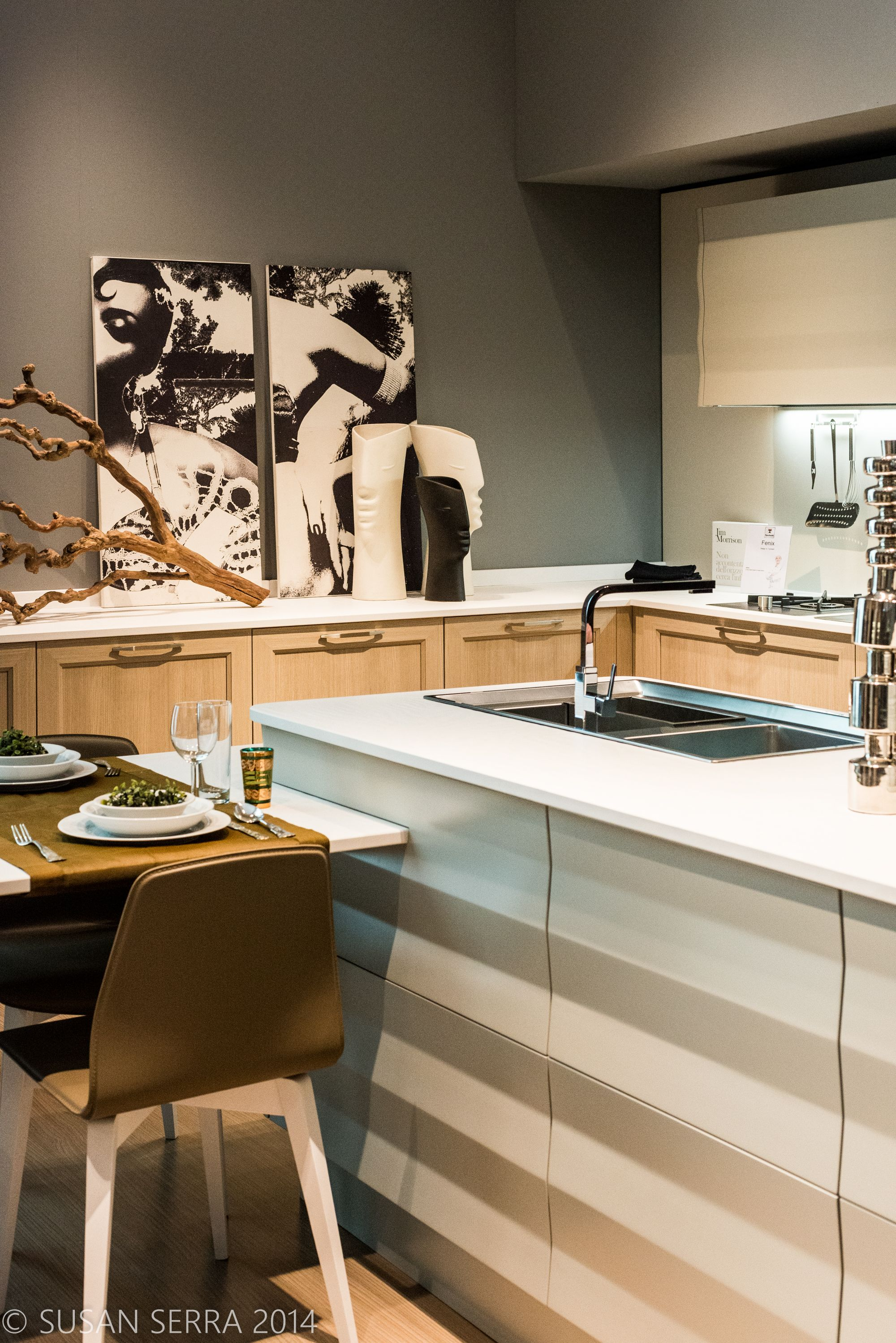 Luxury Kitchen Designs 2014 modern luxury kitchen design features art and modern forms - milan
