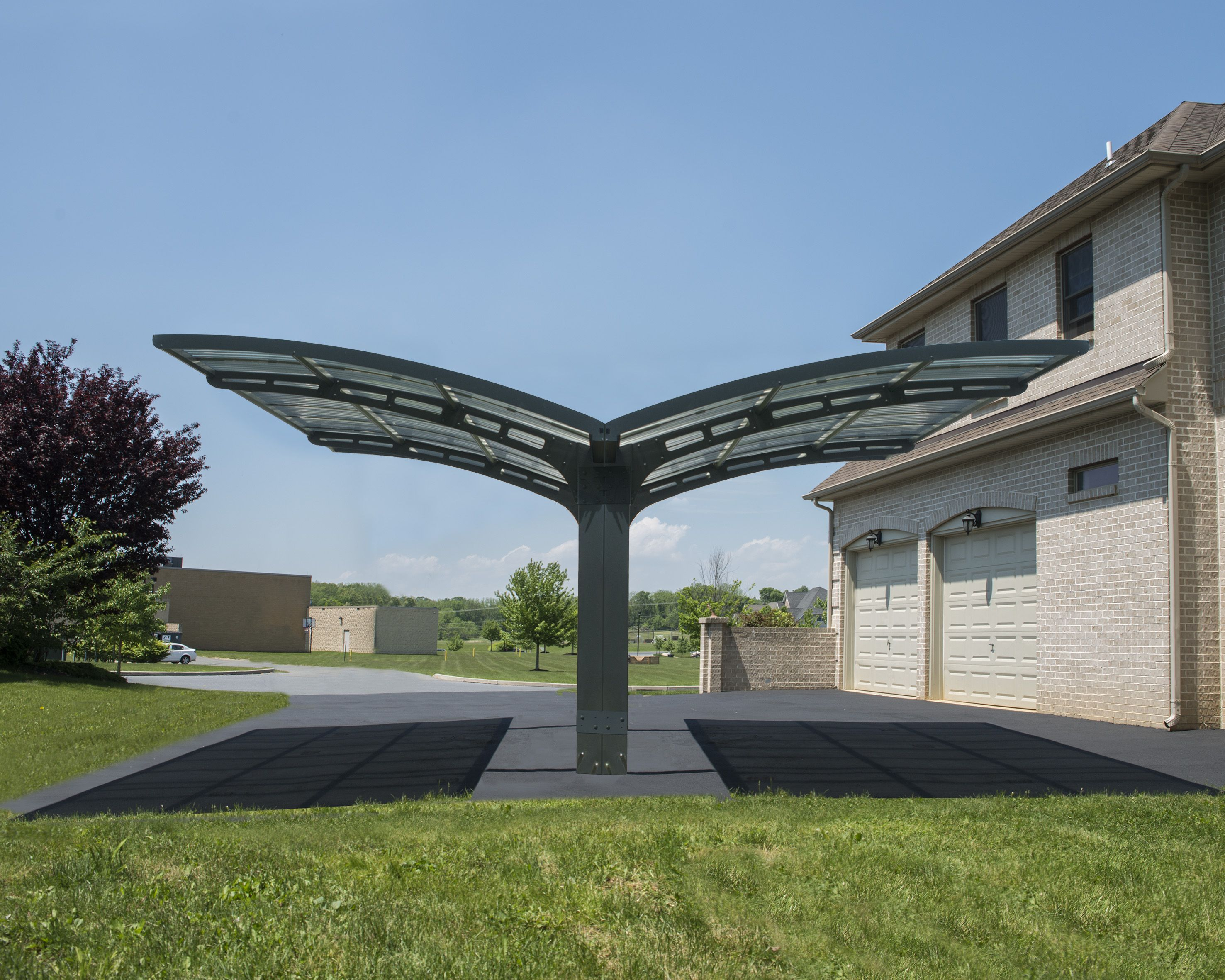 Arizona Carport Ez Link Kit Carports Double Carport