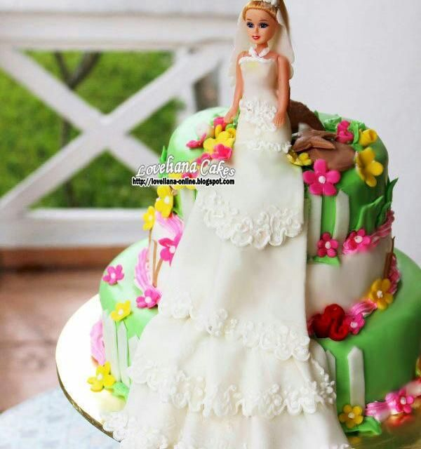 レシピとお料理がひらめくSnapDish - 45件のもぐもぐ - barbie cake by liana
