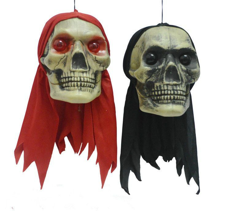 Halloween Party Home Decoration Hanging Skeleton Wizards Pendant - skull halloween decorations