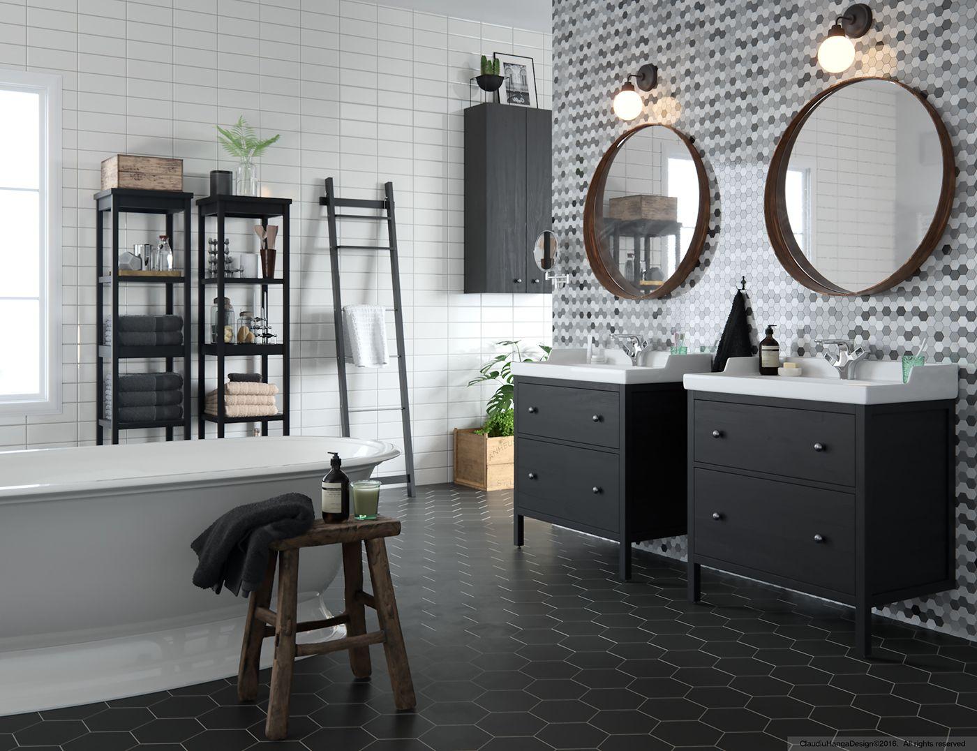 Ikea Bathroom on Behance   Ikea bathroom, Ikea, First ...