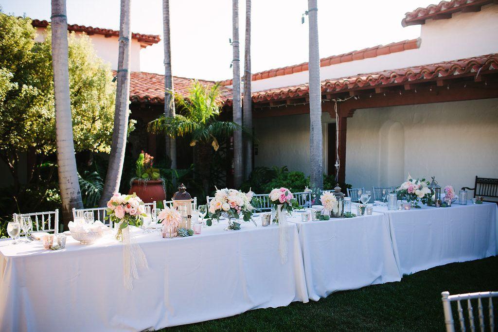 Romantic, classic wedding at Casa Romantica, San Clemente ...