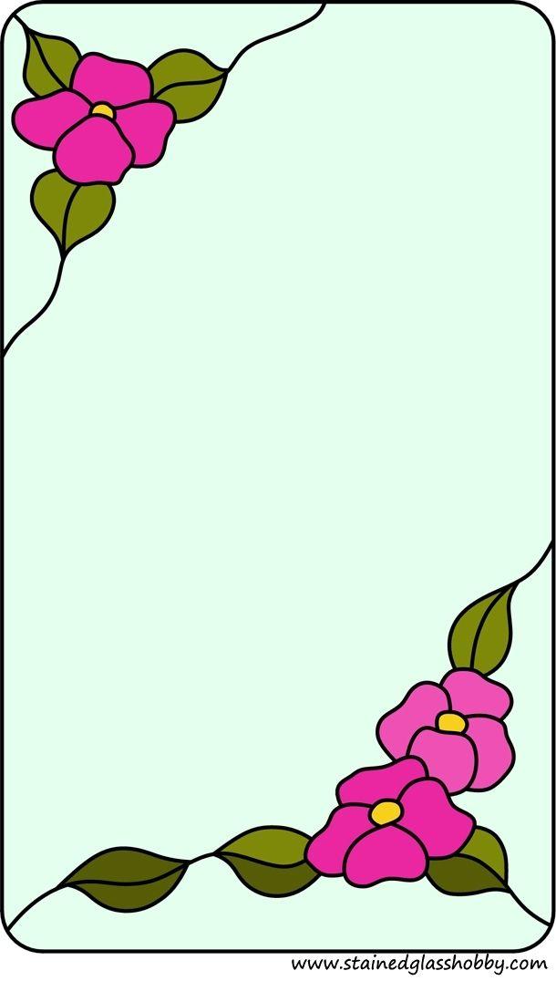 vidrio manchado floral | lamparas | Pinterest | Espejo, Vidrio y ...