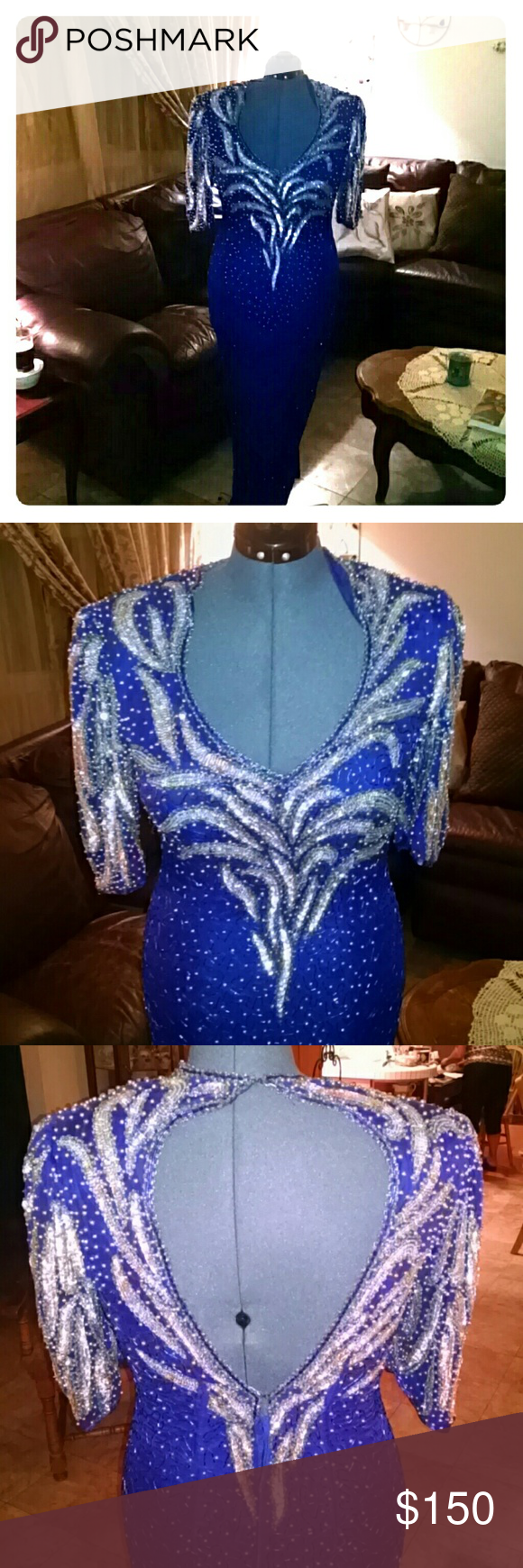 Vintage Gorgeous Jagswear Formal Gown