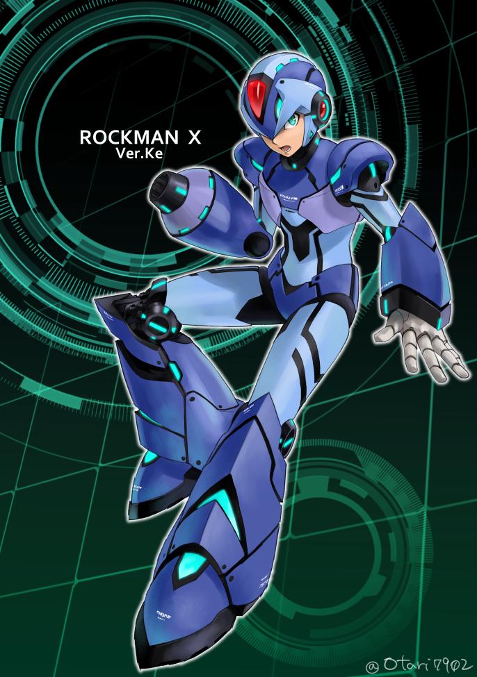 閒聊 毀三觀的洛克人dos版 Mega Man Art Mega Man Capcom Art