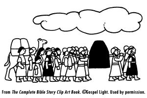 VBS Day 1: Joshua 3-4; Israelites cross the Jordan. Craft