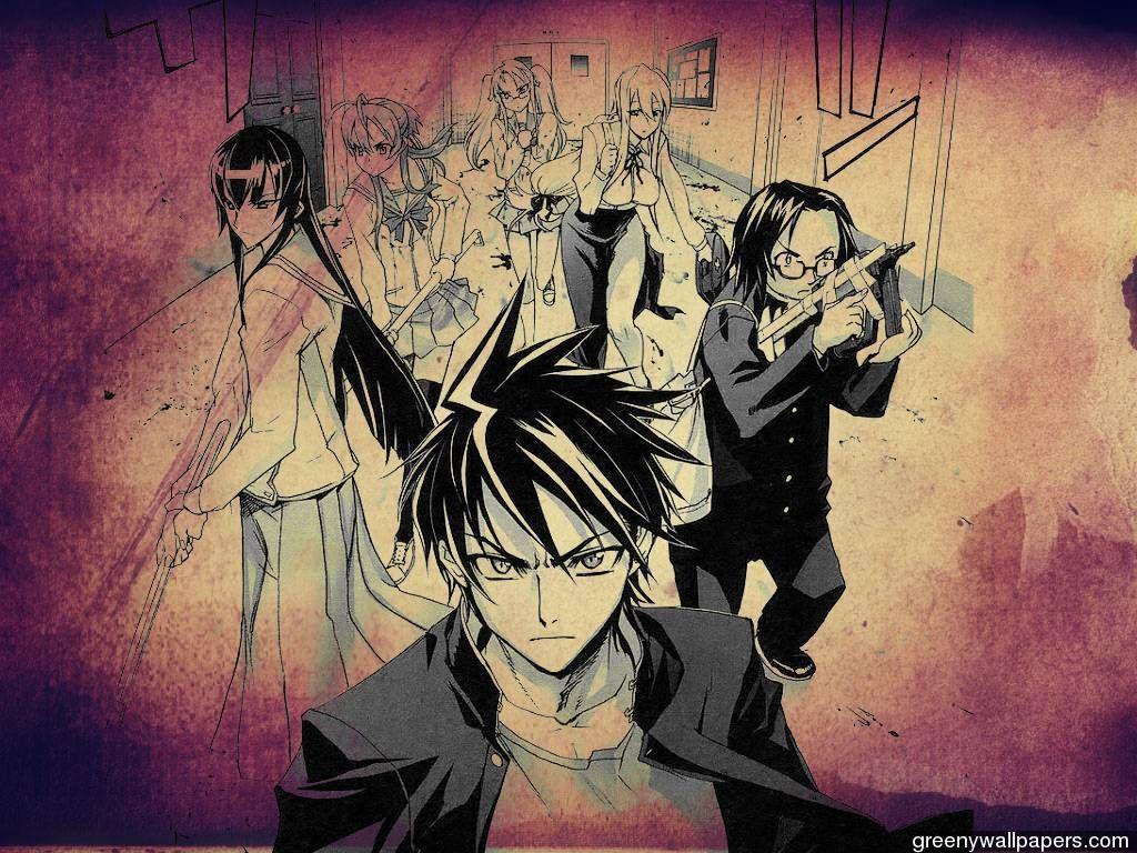 highschool of the dead manga free download