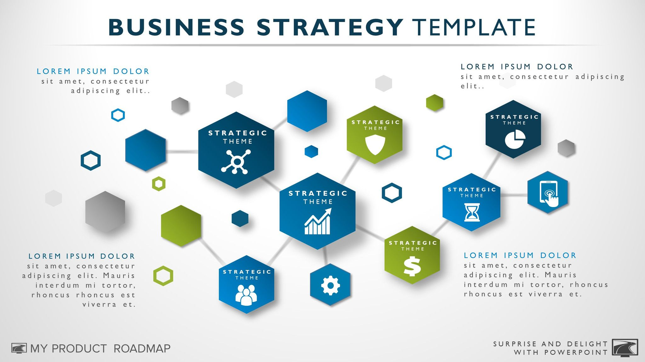 Business Strategy Template  Presentation Ideas