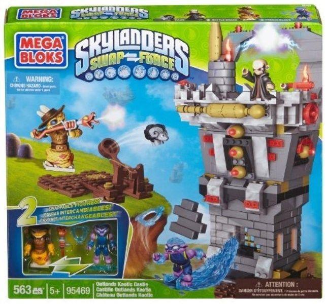 NIB Mega Bloks Skylanders Outlands Kaotic Castle (95469) - 563 piece set #MegaBloks