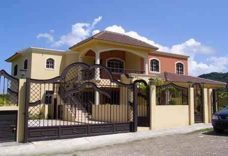 entrada frontal cercas entrada frontal casas y planos
