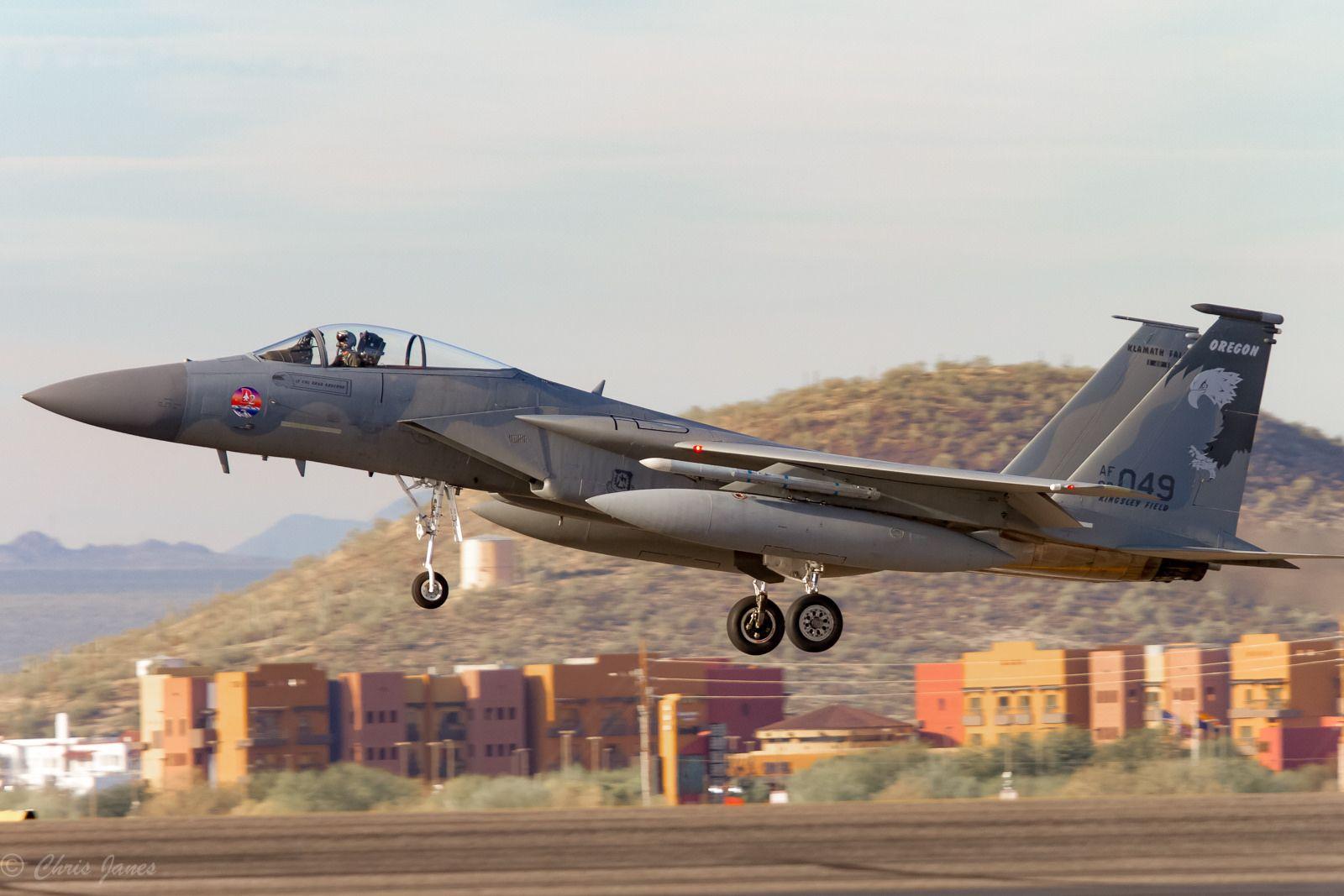 Oregon ANG F15C Fighter jets, Oregon, Air force