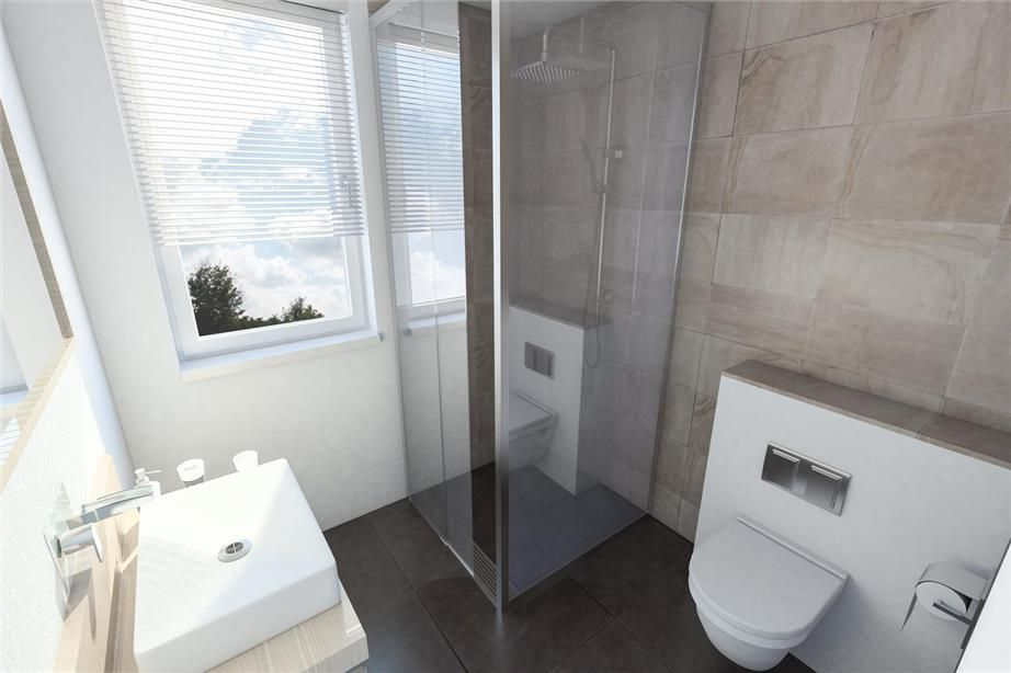 Voorbeeld kleine badkamer meer voorbeelden