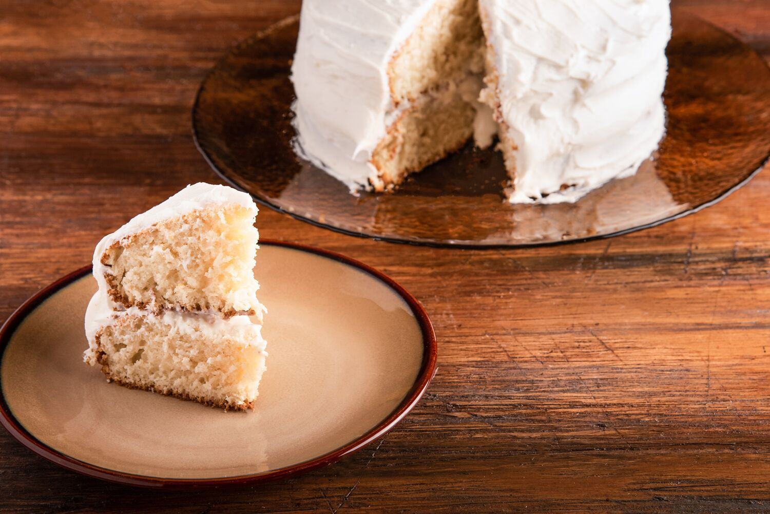 This Basic White Cake Recipe Is Made With All Egg Whites Which