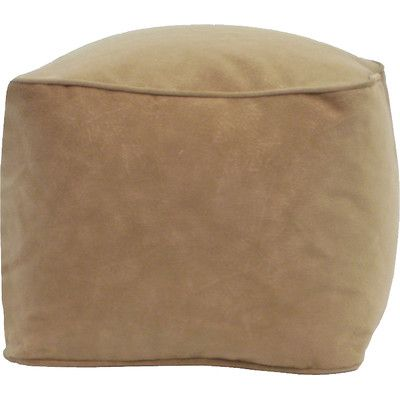 Bean Bag Chair Size: Small, Upholstery: Buff - http://delanico.com/bean-bag-chairs/bean-bag-chair-size-small-upholstery-buff-639984842/