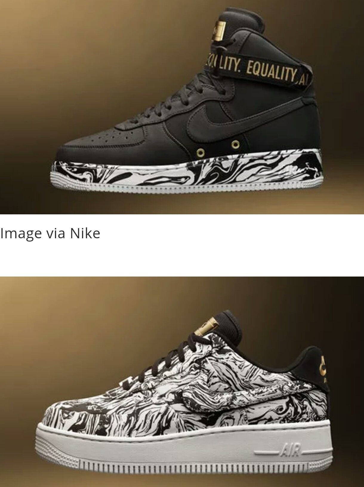 the best attitude ce135 6a91e Nike and Jordan Unveil 2017 Black History Month Sneakers