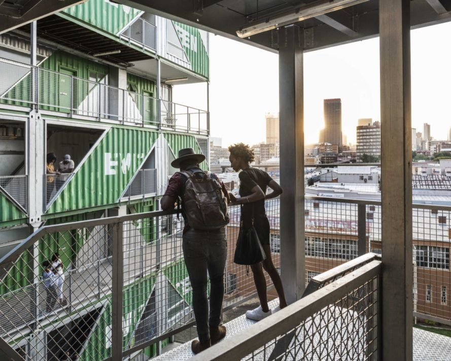 Lot Ek Upcycles 140 Shipping Containers Into An Apartment Complex