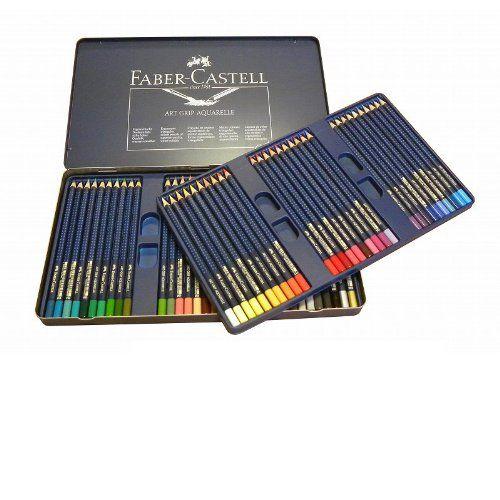 Faber Castell Aquarellstift Art Grip Aquarell 60 Farben Sortiert