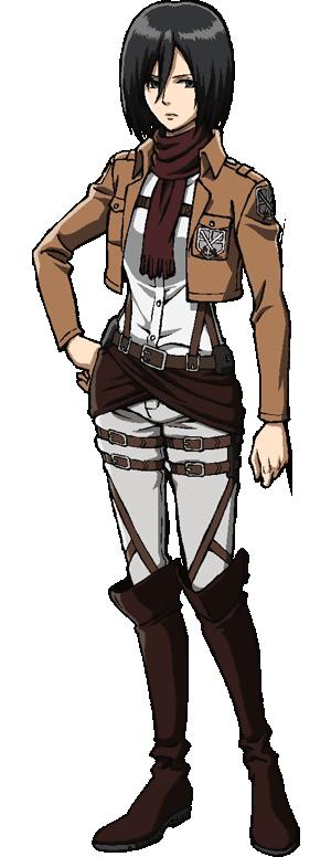 Mikasa Ackerman | Mikasa | Attack on titan costume, Attack on titan