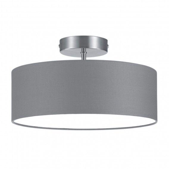 Deckenleuchte Shima II - Webstoff \/ Metall Home24 \/\/ 40 - schlafzimmer lampen decke