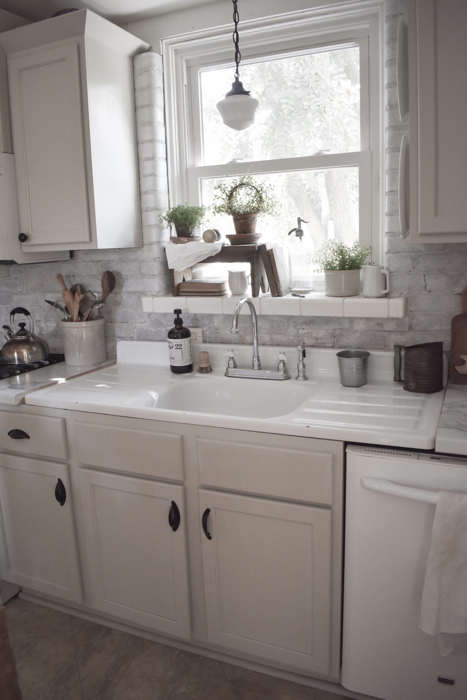 Vintage Washboard Kitchen Sink Midcounty Journal Vintage