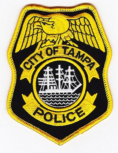 Tampa Pd Fl Police Patches Police Badge