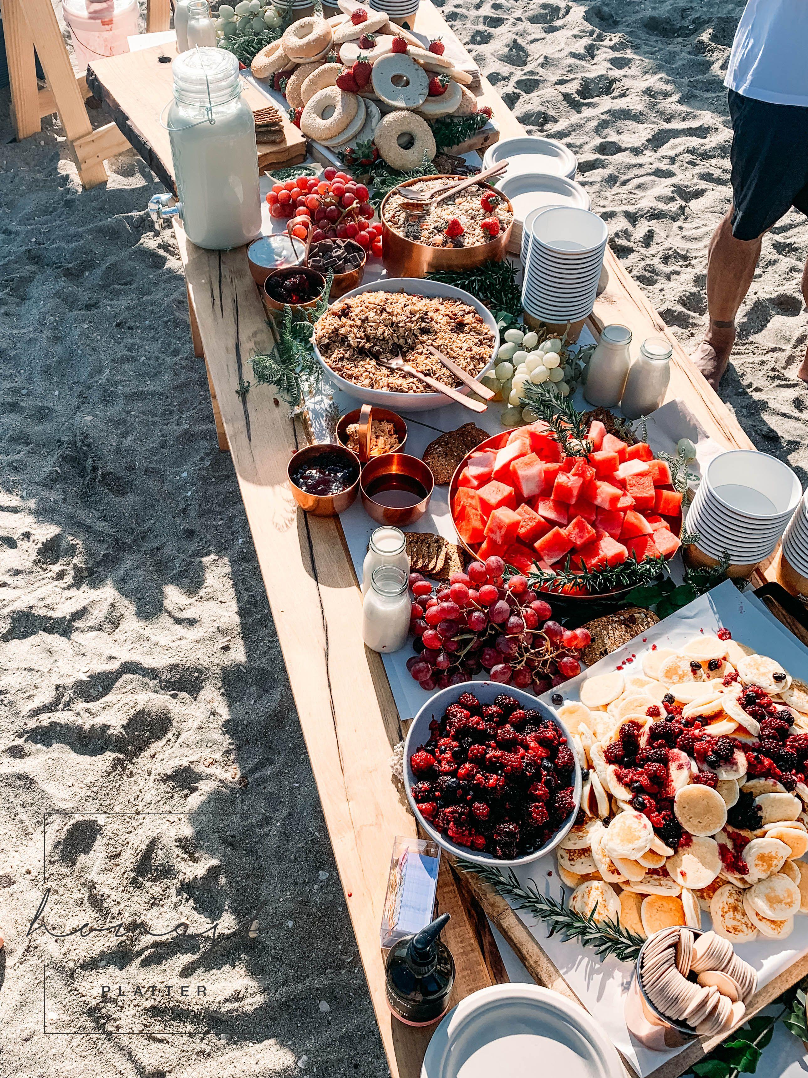 The Honest Platter Grazing Tables Platters Bay Of Plenty Coromandel Nz Breakfast On The Beach Boozy Brunch Grazing Tables
