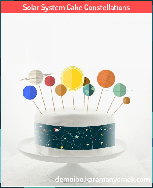 Solar System Cake Constellations Solar System Cake Constellations Eada Boyden Eadaciboyden Eada Boyden Solar System Cake S In 2020 Solar System Cake Cake Cake Toppers