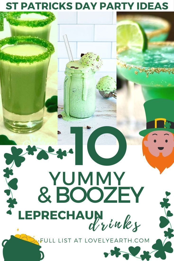 green drink recipe st patrick's day