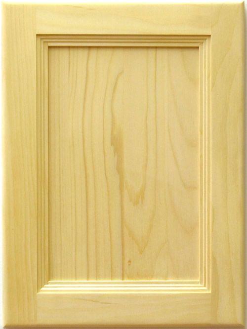 Allstyle Cabinet Doors: Segovia Stile and Rail Flat Panel Door | ZLM ...