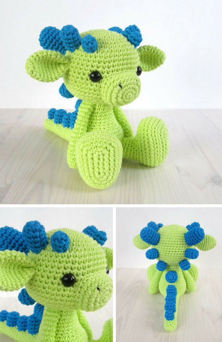 22 Totally Adorable Amigurumi Dragon Patterns You Need to Make for ...