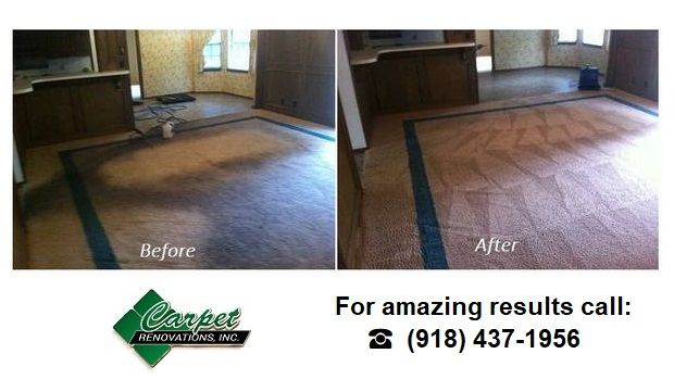 Looking for the best carpet cleaner in the Tulsa, OK area? Carpet Renovations is the company you've been looking for!