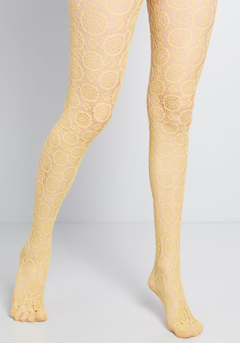 9128cdd13df Sheer Me Out Tights in Dijon - Size OS