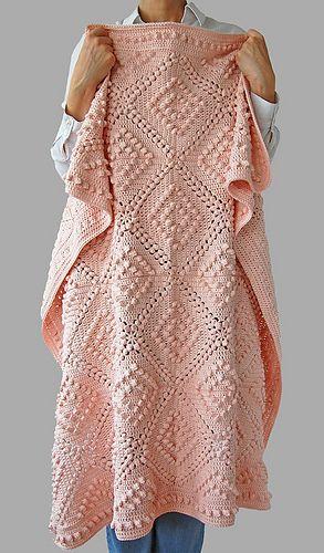 Fenya Blanket pattern by Dragana Savkov Bajic