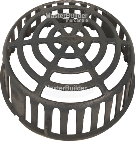 Zurn P100 Dome Ci Cast Iron Low Profile Dome For Z100 Series Roof Drains Roof Drain Drains Roof