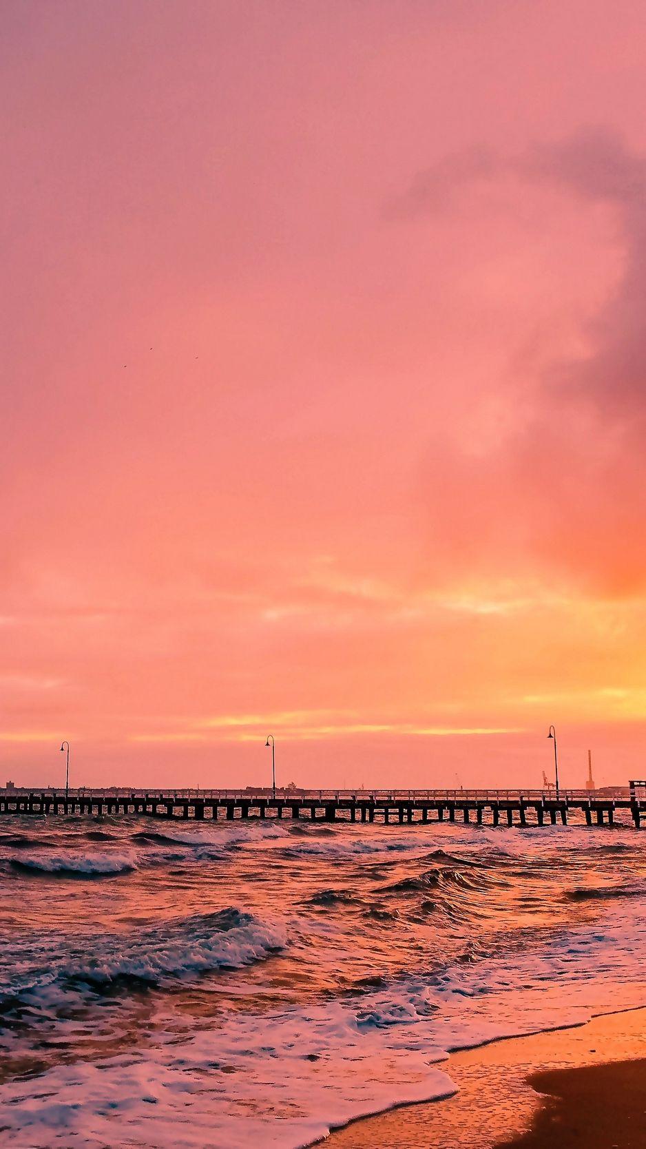 Download Wallpaper 938x1668 Sunset Sea Sun Landscape Iphone 8 7 6s 6 For Parallax Hd Background Landscape Wallpaper Beach Sunset Wallpaper Sunset Wallpaper