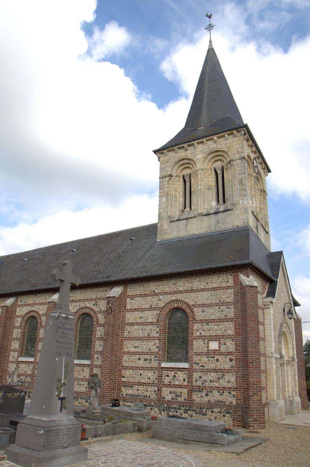église de Mannevillette