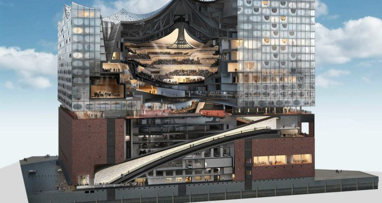 5 Things To Know About The Opening Of Elbphilharmonie Hamburg Arch2o Com Architecture Concert Hall Architecture Architecture Design