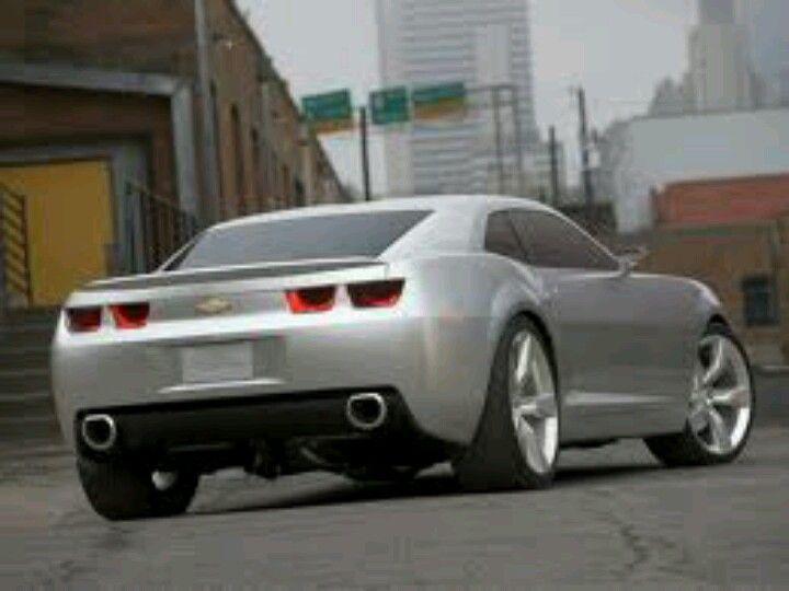 Silver Bullet 9 16 12 Camaro Concept Camaro Chevrolet Camaro